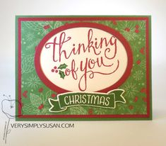 Time of Year, This Christmas DSP, Stampin Up, Christmas Cards, Holiday 2016