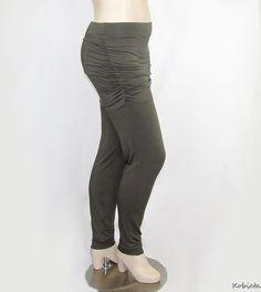 Plus Size Womens Skirted Yoga Pants  Leggings  by shopkobieta, $49.00