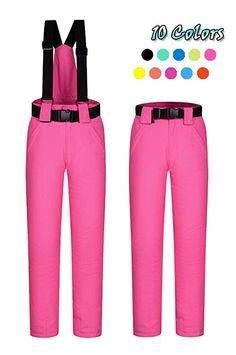 e05c331ebe ELETOP Women s Snow Pants Outdoor Waterproof Windproof Ski Pants Warm  Insulated Snowboard Pants 10 Colors