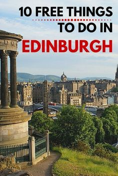 Travel guides are useful for tourists, but when it comes for budget conscious backpacker, it's local recommendation that gives you the best information. That's why; we are really pleased to share with you our top 10 tips for free things to do in Edinburgh – the capital of Scotland! #travel #scotland #europe