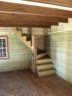 corner stairs for cabin