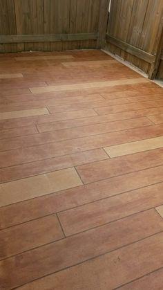 Rustic Concrete Wood Dayton OH