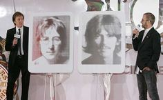 PAUL AND RINGO, REMEMBER JOHN AND GEORGE