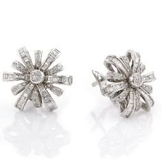 Starburst Earrings Diamonds See more amazing jewelry at ExquisitEarrings.com! #jewelry