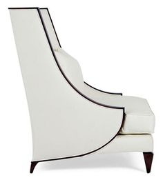 Christpoher Guy Lounge Chair- love the lines on this chair.  Gorgeous