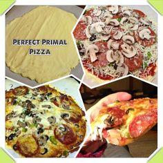 Perfect Grain Free Primal Pizza / @Jennifer Grass Fed Girl / http://www.grassfedgirl.com/perfect-grain-free-primal-pizza-recipe-and-video/