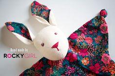 Doudou lapin DIY couture