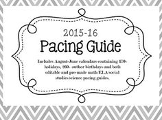 pacing calendar template for teachers - 1000 ideas about pacing guide on pinterest common core