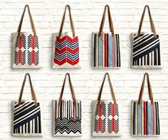 Item of the Day:  MIDORI Imaginary Lines Collection totes