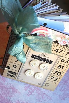 Bingo journal by Rebecca Sower