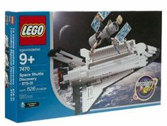 LEGO Discovery: Space Shuttle Discovery by Lego. $339.80. The set includes the Space shuttle Discovery and the Hubble Space Telescope and includes 826 pieces. Ages 9 and up. 7470 Space Shuttle Discovery is a Discovery set released in 2003.. This is LEGO's second - and also most realistic - rendition of a Space Shuttle.. Did you know that the Space Shuttle Discovery can carry large satellites out to space and back to earth? Your future astronaut will love to explore the g...