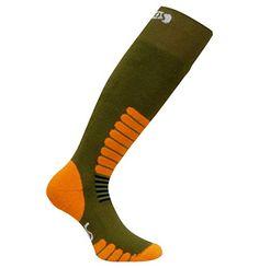 Eurosocks 1112 Ski Zone OTC Ski Socks With MicroSupreme Dampness Command -Pairs