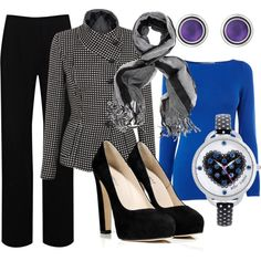 """Time for the Blues"" by pjm27 on Polyvore"