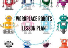 Workplace robots lesson plan offers reading, listening, and speaking activities. The aim is to discuss the possibility of workplace robots replacing humans. Robots, Workplace, Activities, How To Plan, Reading, Falling Down, Robotics, Word Reading, Robot