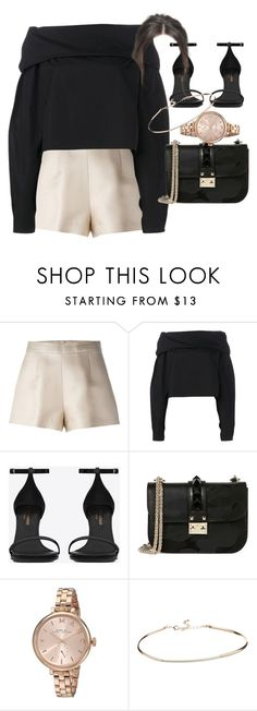 """Untitled #4115"" by olivia-mr ❤ liked on Polyvore featuring Ermanno Scervino, Lemaire, Yves Saint Laurent, Valentino, Marc by Marc Jacobs and ASOS"