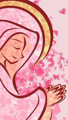 Wallpapers de nossa senhora - imagens da virgem maria inglês - wallpapers of our lady - Catholic Art, Religious Art, Religious Education, Catholic Wallpaper, Mama Mary, Spiritus, Female Pictures, Holy Mary, Blessed Virgin Mary