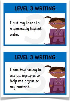 APP Writing Level 3 Child Friendly
