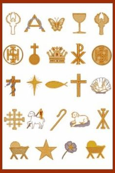 Catholic Cross Symbols | Appropriate symbols for the tree are a star, an angel, a candle, a ...