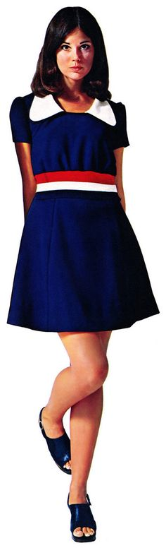 Colleen Corby (Sears Catalog - 1973). I'm certain i wore this dress. I remember the dresses came with tissue paper inside them.