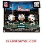 New York Jets Lil' Teammates Collectible Team Set New York Jets, Miami Dolphins, Flags, National Flag