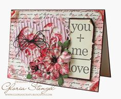 Scraps of Life: Canvas Corp Valentine Card