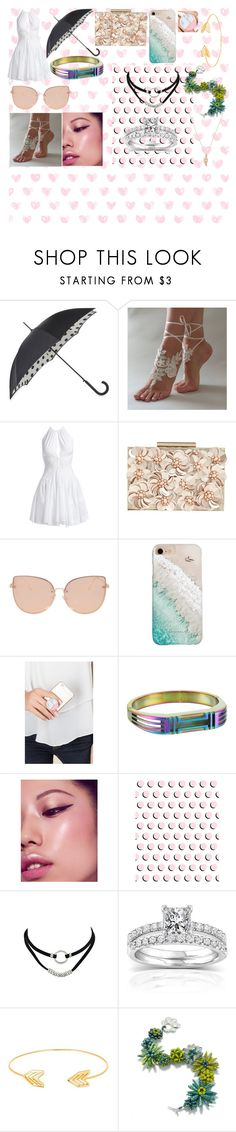 """""""Long walk on The Beach with your Husban"""" by buckamanda on Polyvore featuring Fulton, Alaïa, Phase Eight, Topshop, Gray Malin, PopSockets, Tory Burch, Annello and Lord & Taylor"""
