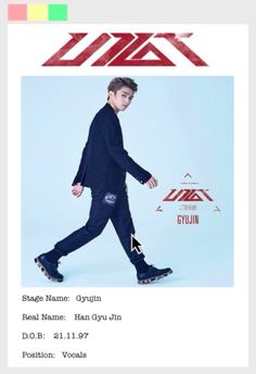 UP10TION Member profile Gyujin