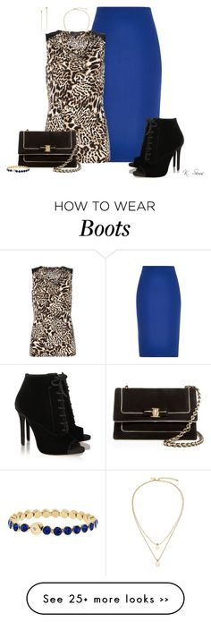 """Roar"" by ksims-1 on Polyvore featuring River Island, Simon Jeffrey, Tabitha Simmons, Salvatore Ferragamo, Michael Kors and Kate Spade"