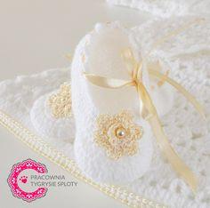 buciki w złocie chrzest