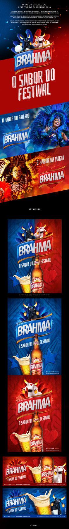 Cerveja Brahma - O Sabor do Festival on Behance