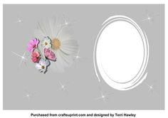 - A pretty card insert that will go with many cards and sizes, but does have a matching insert if desired. Pretty Cards, Blessed, Card Making, Greeting Cards, Basket, Number, Space, Floral, Design