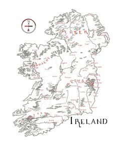 Ireland – Lord of Maps Celtic Signs, Make A Map, Irish Language, Ireland, How To Draw Hands, Lord, Maps, Articles, Symbols