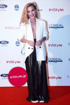 H TΑΜΤΑ ΜΕ STELIOS KOUDOUNARIS  http://www.instyle.gr/look-of-the-day/