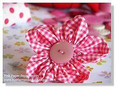 Tip Junkie: Fabric Flower Tutorials