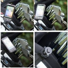 Buybits Golf Bag Clip Mount  Dedicated Cradle for the HTC Desire HD Mobile / Smart Phone