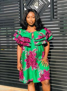 Call, SMS or WhatsApp 2348144088142 if you want this style, needs a skilled tailor to hire or you want to expand more on your fashion business. Latest African Fashion Dresses, African Dresses For Women, African Attire, African Inspired Fashion, African Print Fashion, Africa Fashion, African Print Dress Designs, African Print Dresses, Ankara Designs