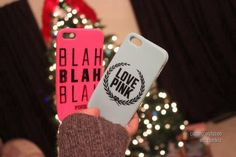 vs pink iphone cases. ♡