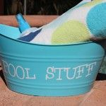 Pool Stuff Basket