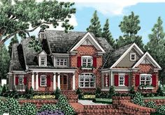 Graystone Park (a) - Home Plans and House Plans by Frank Betz Associates