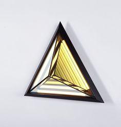 Stella Triangle (Black). Designed by Rosie Li for Roll & Hill