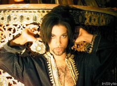 Take a Look Back at InStyle's Home Tour of Prince's Spanish Villa in 2000 - Prince in His Marbella Villa from InStyle.com