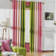 Image result for multiple colors of sheer curtains
