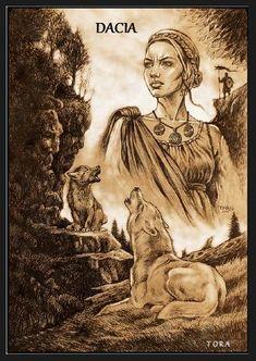 History Of Romania, Tribal Warrior, Knife Art, Ink Illustrations, Equine Art, Fantasy Characters, Cyberpunk, Gabriel, Tatoos