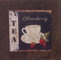 Chá Morango -São produzidas em Mdf Betumizado,cortados levemente irregulares com imagem envelhecida. Acompanha a fita Fixa Forte.  https://www.coisasdelolla.com