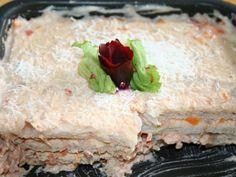 Delícia, vem e confere essa maravilha!! - Aprenda a preparar essa maravilhosa receita de Torta de pão de forma cremosa com atum