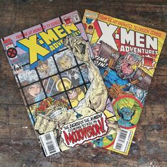 Time for coffee and comics thanks to our buddy @mikesmoviereview. Already have the urge to run down to the comicbookstore for more. X-Men: The Animated Series was the best!  #marvel #xmen #marvelcomics #xmencomics #xmentas #xmentheanimatedseries #cable #storm #wolverine #cyclops #rogue #mojo #logan #comics #comicbooks