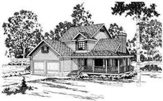 HousePlans.com 124-151    love the floorplan. hate the exterior.
