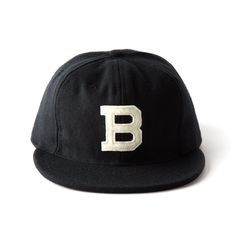 "Ebbets Field x Bespoke Post ""B"" Baseball Cap"