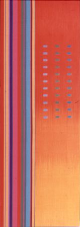 Textile art by Ptolemy Mann a London based textile artist and designer obsessed with colour and its many nuances.