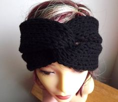 Womens Accessories Womens Headwrap Knitted by knottycreationsbyET, $18.00